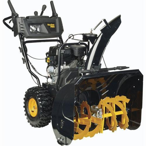 历史新低!Poulan Pro PR271 27英寸 254cc 双阶汽油铲雪机3.7折 719.62加元清仓并包邮!