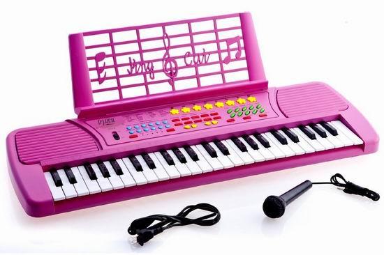 Ellegance KB49PK 49键 儿童电子琴3折 31.97加元清仓!