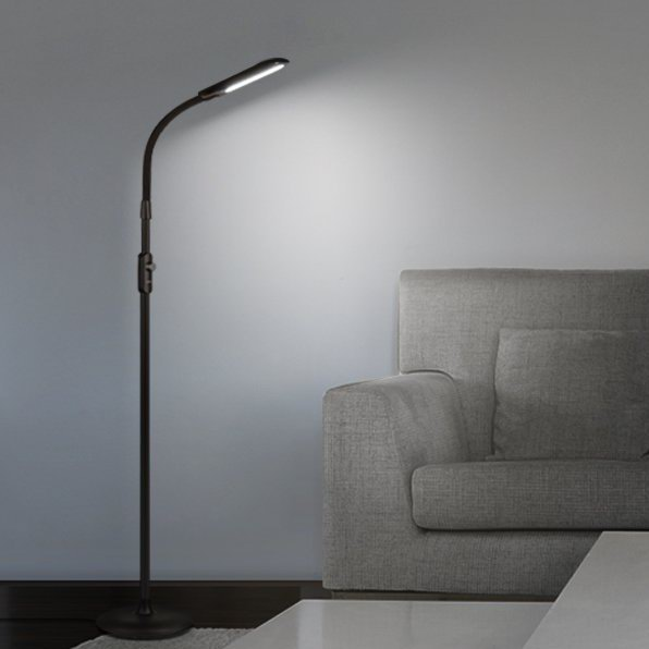 AUKEY 12W LED 落地式护眼灯 62.12加元限量特卖并包邮!