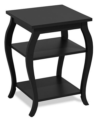 白菜价!HOME STUDIO Curved Side 黑色边桌2折 25.99加元清仓!