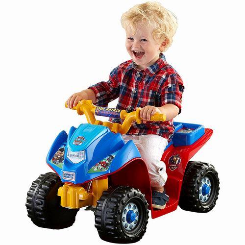 Fisher-Price 费雪 Power Wheels 狗狗巡逻队 儿童四轮电动车 89.97加元包邮!