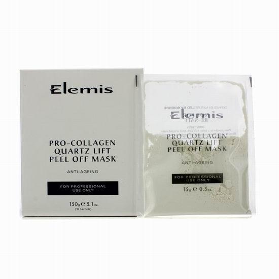 Elemis 艾丽美 Pro-Collagen 骨胶原石英揭式面膜(5.3盎司)4.6折 44.34加元包邮!