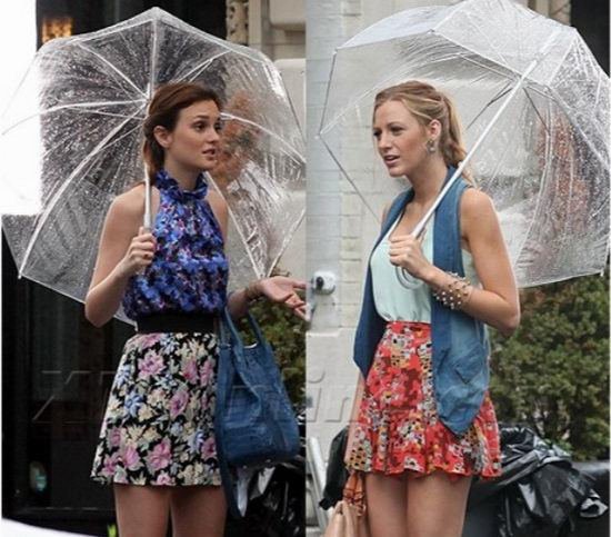 红到发紫!高颜值 Totes Manual 自动透明拱形雨伞 21.9加元!