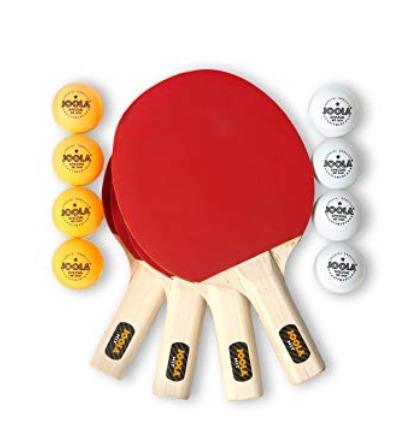 史低价!JOOLA 59152 Hit 娱乐级乒乓球拍套装4.8折 25.99加元!