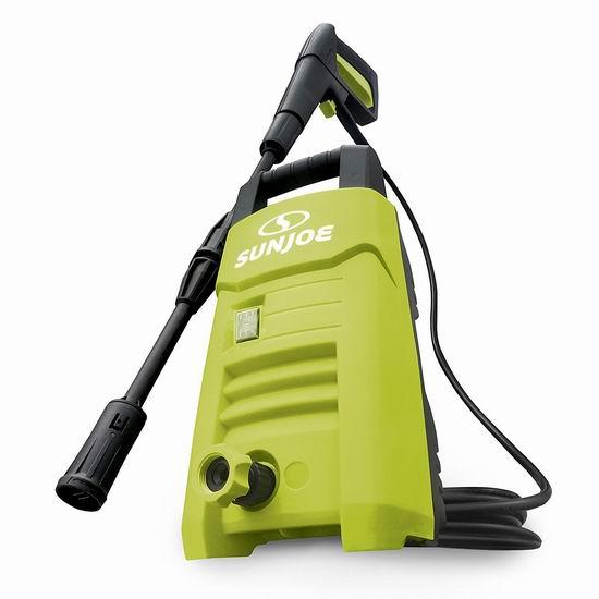 历史新低!Sun Joe SPX200E 1350 PSI 1.45 GPM 电动高压清洗机 76.49加元包邮!
