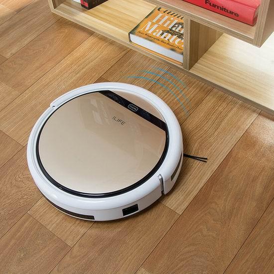 ILIFE 智意 V5s Pro 二合一 超静音 智能拖地/扫地机器人6.7折 199.99加元包邮!