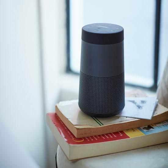 Bose SoundLink Revolve 蓝牙无线音箱199加元包邮!两色可选!