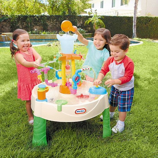 Little Tikes 小泰克 喷泉工厂 儿童戏水桌 79.95加元包邮!