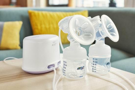 历史新低!Philips 飞利浦 Avent 新安怡 SCF334/22 吸乳系列自然原生双边电动吸乳器5.1折 149加元包邮!