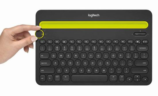 Logitech 罗技 K480 多功能蓝牙键盘7.1折 49.99加元包邮!支持笔记本、手机、平板!