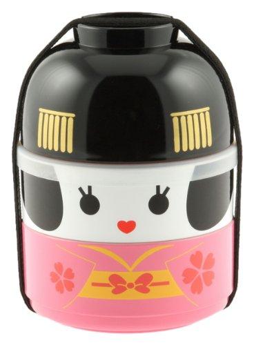 历史新低!Kotobuki 280-220 超萌艺伎娃娃 双层饭盒/日式便当盒 21.33加元!