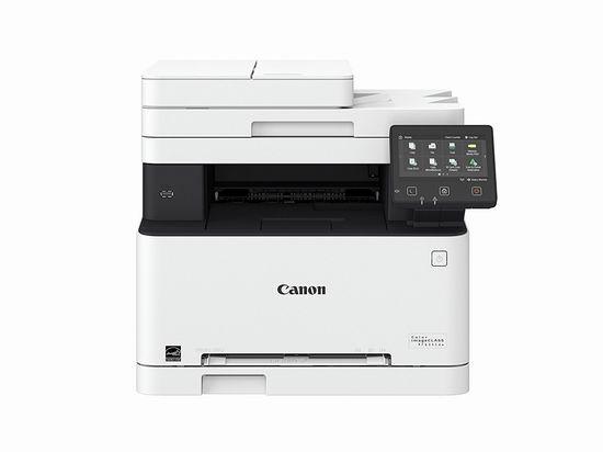 历史最低价!Canon 佳能 imageCLASS MF634CDW 彩色无线激光打印机5.3折 279.99加元包邮!