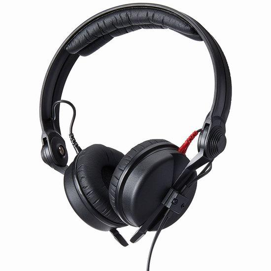 历史新低!Sennheiser 森海塞尔 HD 25 头戴式专业DJ监听耳机6.5折 129.95加元包邮!