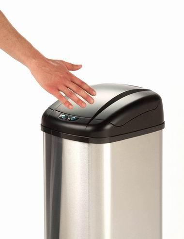 白菜速抢!历史新低!Honey-Can-Do TRS-01198 48升 红外感应 不锈钢垃圾桶1.6折 36.25加元包邮!