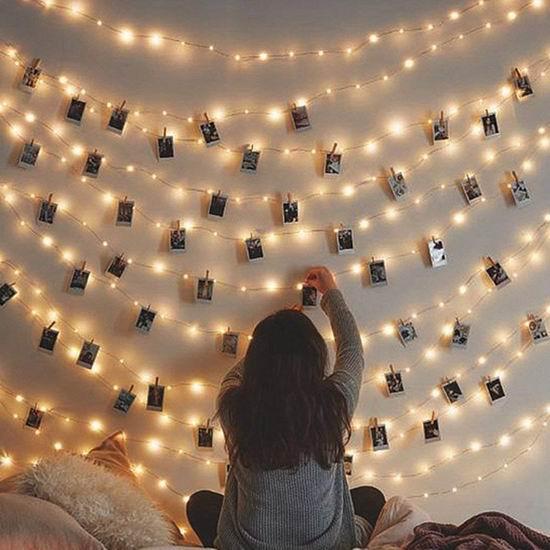 Arespark 20 LED 浪漫照片墙装饰灯/照片夹 9.99加元限量特卖!