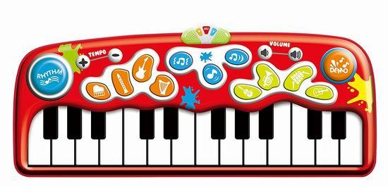 超级白菜!Winfun Step-To-Play 超大电子琴跳舞毯1.1折 10.74加元清仓!