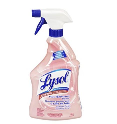 Lysol 全能喷雾消毒清洁剂 950毫升 4.52加元