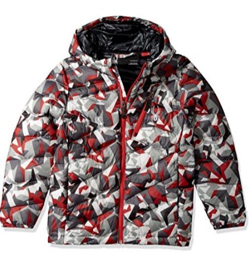 Spyder Dolomite 男童连帽防寒服 43.03加元起(多色可选),原价 169加元,包邮