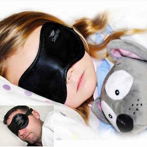 Sleep More高级舒适黑缎眼罩 4.99加元,原价 24.95加元