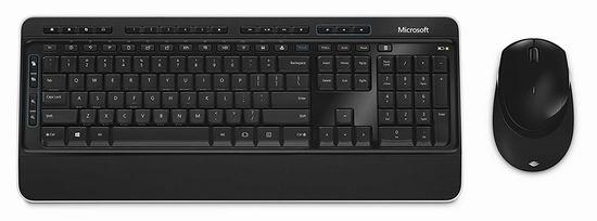 历史新低!Microsoft Desktop 3050 无线蓝影键盘+鼠标套装5折 24.99加元!英法双语可选!