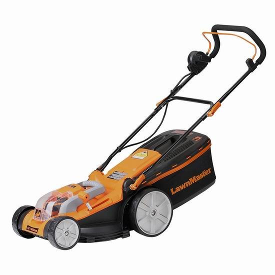 Lawnmaster CLMB4016K 40V 16英寸 无绳充电式割草机 273加元限量特卖并包邮!