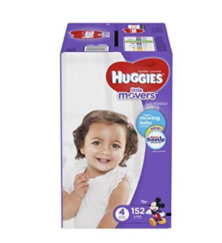 Huggies 好奇 Little Movers 纸尿裤 34.77加元(3、4、5、6码),原价 39.99加元,会员价 29.28加元