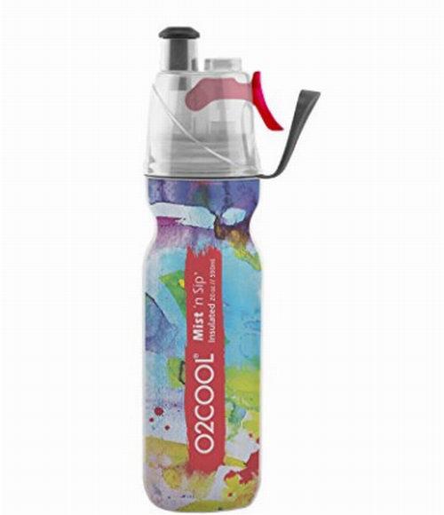 美国 O2COOL 便携运动喷雾水杯 12.99加元(20盎司),原价 31.43加元