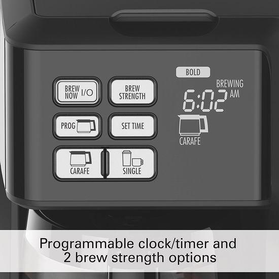 Hamilton-Beach 49950C Flexbrew 12杯量 二合一可编程咖啡机 89.99加元包邮!