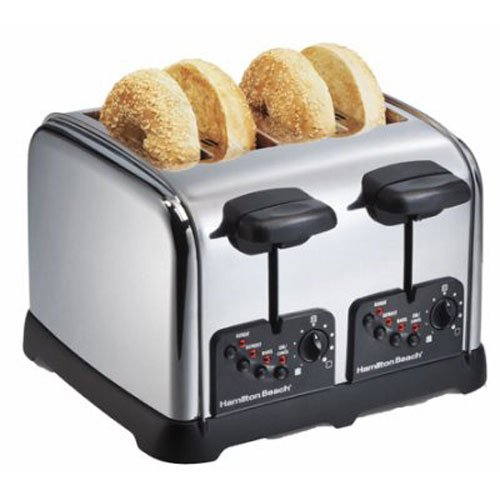 Hamilton Beach 24790C 不锈钢烤面包机5折 34.99加元!
