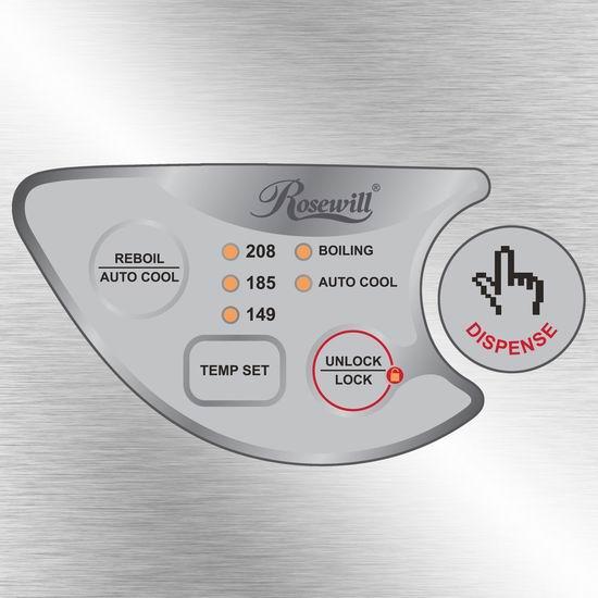 Rosewill R-HAP-15002 不锈钢电热水壶 74.99加元包邮!