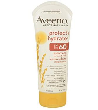 历史最低价!Aveeno 阿维诺 防水保湿防晒霜 7.5加元(SPF 60),原价 13.99加元
