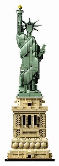 Lego 乐高 21042 建筑系列 自由女神像(1685pcs) 111.99加元包邮!