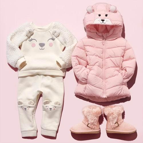 The Children's Place 精选大量童装、童鞋等4折起+全场包邮!保暖夹克 23.98加元、抓绒套头衫 17.47加元