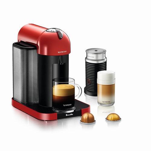 史低价!精选多款 Nespresso 咖啡机及奶泡机5.5折 99加元起特卖