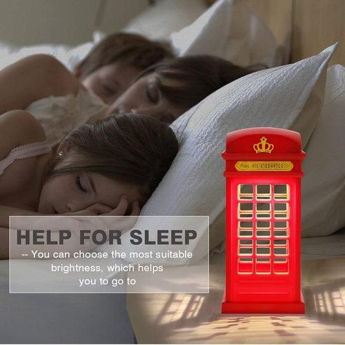 白菜价!历史新低!MECO 英伦复古电话亭 可调光LED夜灯2.5折 5.99加元清仓!