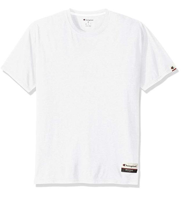 Champion 男士logo 纯色T恤 10.92加元起特卖!多色可选!