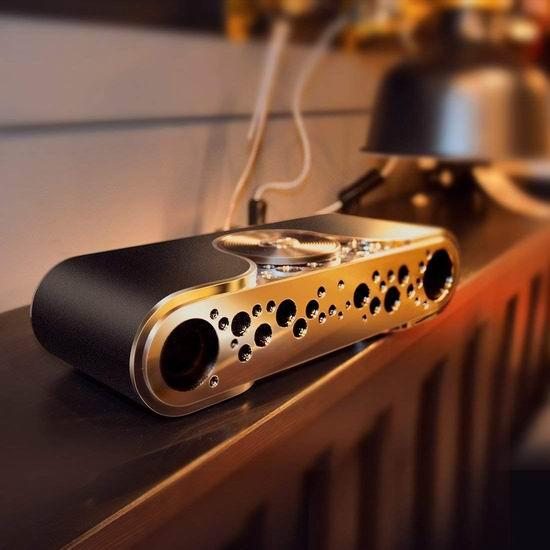Bluedio 蓝弦 TS-3 (Turbine) 2.1声道 便携式插卡 无线蓝牙音箱4.5折 38.99加元限量特卖并包邮!2色可选!