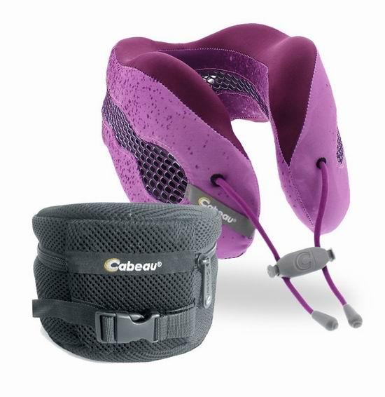 历史新低!Cabeau Evolution Cool 舒适记忆海绵护颈枕3.4折 29.98加元清仓!送豪华便携袋!