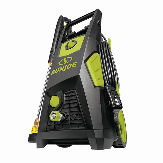 金盒头条:Sun Joe SPX3500 2300-PSI 1.48 GPM 家用电动高压清洗机3.9折 210加元包邮!