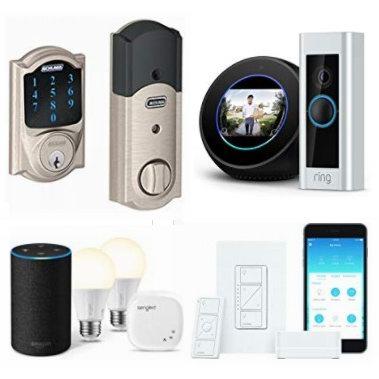 精选 Schlage、Philips、Echo、TP-Link 等品牌智能门锁、可视门铃、智能灯泡、智能开关、智能插座等5折起!会员专享!