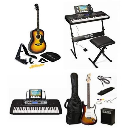 精选多款 Rockjam、Martin 电子琴、吉他及电吉他6.1折起!售价低至55加元!会员专享!