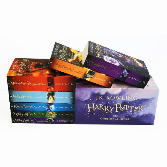 精选《Harry Potter 哈利波特》系列图书及套装 全场5.9折!