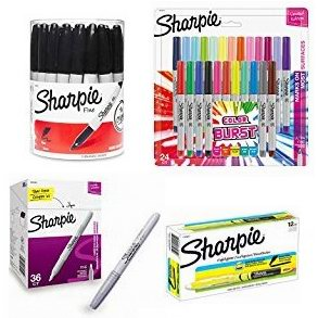 金盒头条:精选12款 Sharpie 锐意 马克笔、彩色标记笔、荧光笔等4.5折起!售价低至9.24加元!