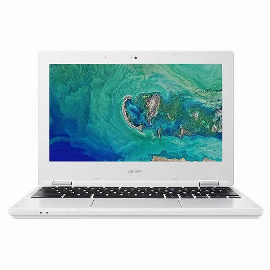 金盒头条:Acer 宏碁 CB3-132-C9M7 11.6寸 Chromebook 笔记本电脑6.6折 199加元包邮!