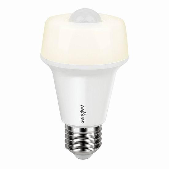 Sengled 60瓦等效 双模式 运动感应LED节能灯 9.99加元限量特卖!