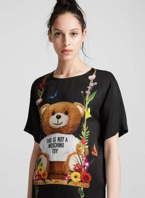 T恤变身时尚Girl!Moschino卡通T恤、连衣裙、卫衣 3.9折 299.95加元起特卖!