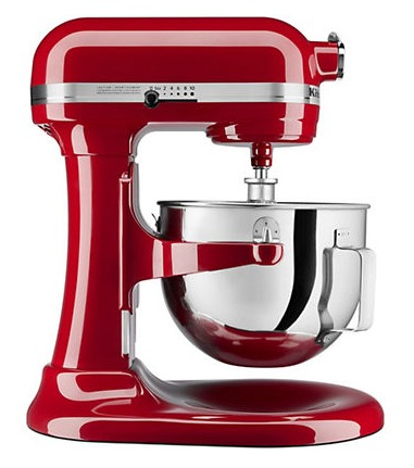 今日闪购:KitchenAid KG25H1XER 5夸脱 多功能 专业厨师机4.6折 269.1-299加元包邮!2色可选!