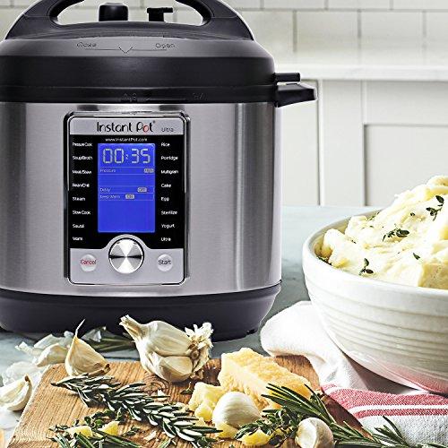 网购周头条:新款 Instant Pot Ultra 6夸脱 10合一 超智能可编程 电压力锅 125.99加元包邮!