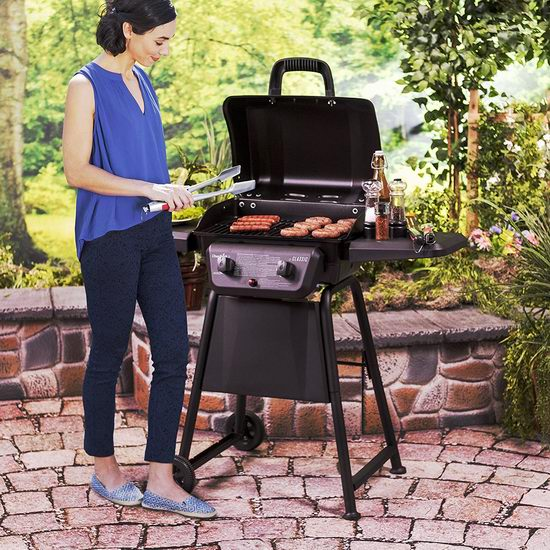 Char-Broil Classic 280 双炉头燃气BBQ烧烤炉 184加元包邮!Home Depot同款售价369加元!