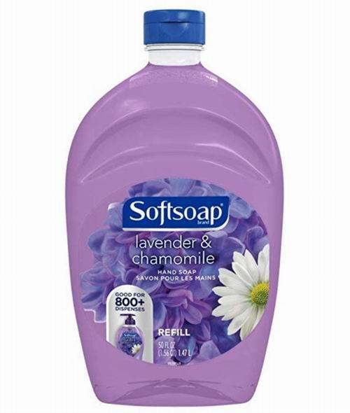 Softsoap芦荟洗手液、薰衣草洋甘菊洗手液 3.8加元起(1650毫升)